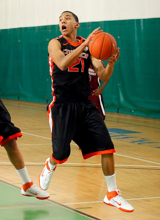 April 10, 2011 - Hampton, VA. USA;  Oliver Hanlen. participates in the 2011 Elite Youth Basketball League at the Boo Williams Sports Complex. Photo/Andrew Shurtleff