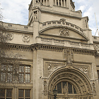 Victoria and Albert Museum, London,  the world's greatest museum of art and design.