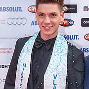 NLD/Amsterdam/20150629 - Uitreiking Rainbow Awards 2015, Mr. gay Vlaanderen 2015 Skelte Willems