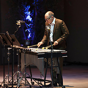 Steven Schick performs John Luther Adams' Red Arc/Blue Veil at the 66th Ojai Music Festival on June 7, 2012 in Ojai, California.