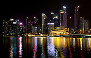 Singapore's Central Business District (CBD) is the heart of this modern city state.