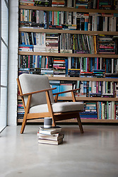 Bookcase and Easy Chair