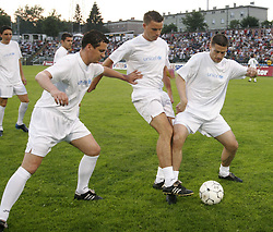 "The last game of Slovenian ""golden team"" at Bezigrad stadion for football made by Joze Plecnik in year 1935, before rebuilded in 2008. The match was held on June 18, 2005.  (Photo by Vid Ponikvar / Sportal Images)"