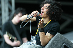 Martin Grech, First act on main stage on Saturday 12th July 2003, T in the Park..Pic ©2010 Michael Schofield. All Rights Reserved.