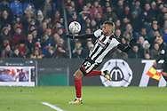 Grimsby Town forward Wes Thomas (39) has an early chance on goal but the referee blows his whistle for off-side during the The FA Cup 3rd round match between Crystal Palace and Grimsby Town FC at Selhurst Park, London, England on 5 January 2019.