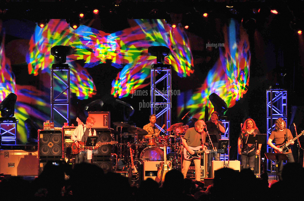Phil Lesh & Bob Weir, Furthur Band in Concert at the Best Buy Theater, New York, NY on 15 March 2011. Lighting Design by Preston Hoffman.
