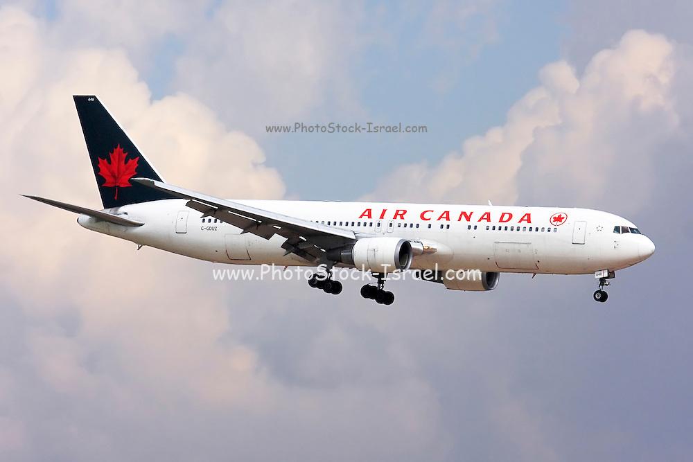 Air Canada commercial flight