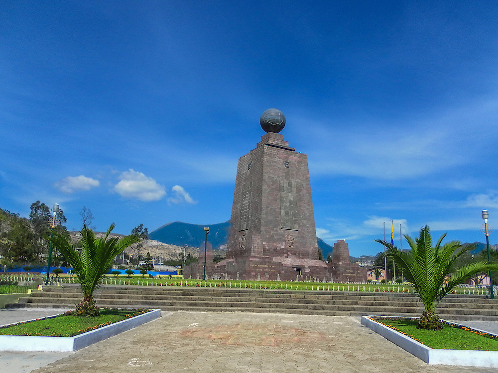 Monumento Mitad del Mundo or middle of the word Monument.