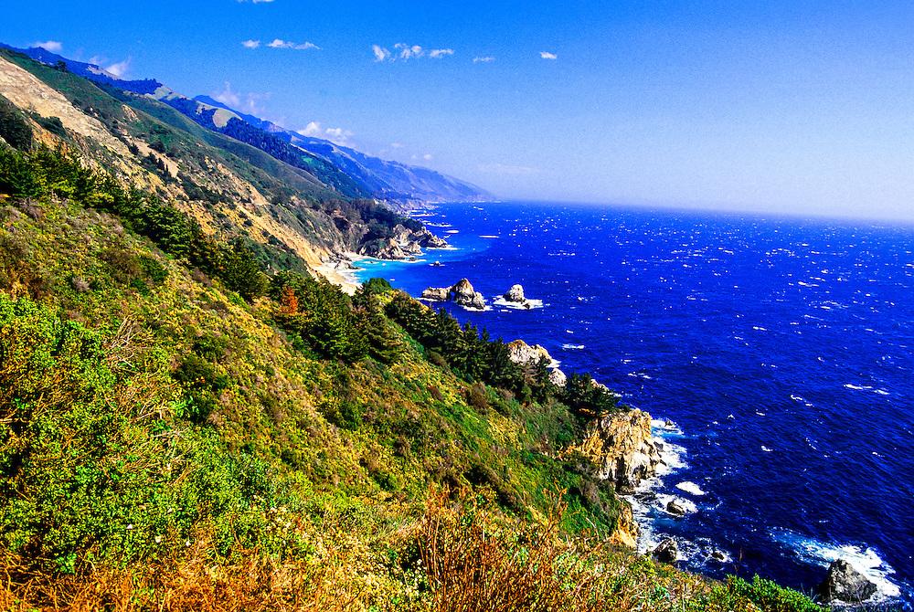 Big Sur coastline, Monterey County, California USA