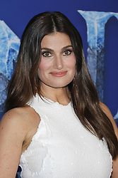 Idina Menzel at the World premiere of Disney's 'Frozen 2' held at the Dolby Theatre in Hollywood, USA on November 7, 2019.