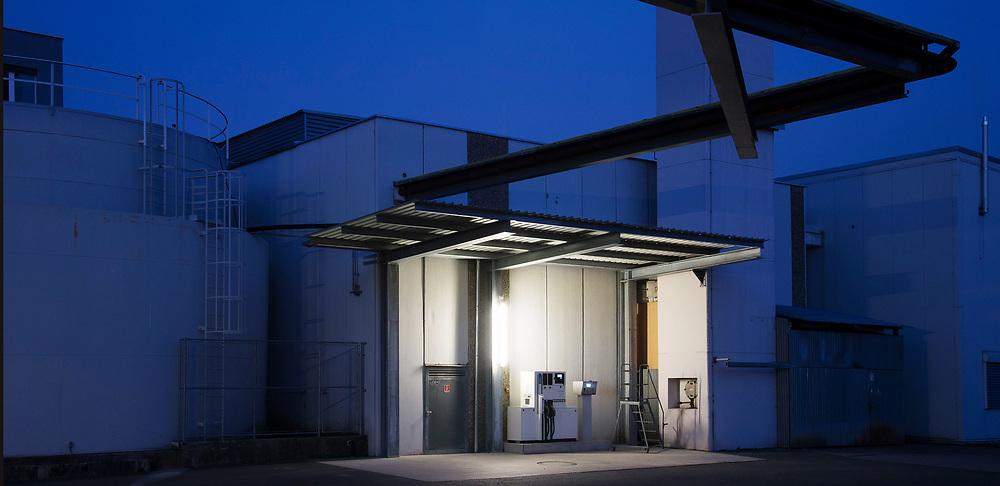 21.03.2016; Freienbach; Tankstelle im Industrie- und Gewerbepark, Wolleraustrasse<br /> (Steffen Schmidt)