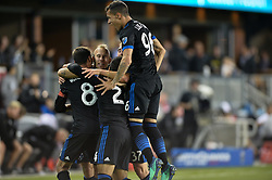 August 29, 2018 - San Jose, California, United States - San Jose, CA - Wednesday August 29, 2018: Magnus Eriksson during a Major League Soccer (MLS) match between the San Jose Earthquakes and FC Dallas at Avaya Stadium. (Credit Image: © John Todd/ISIPhotos via ZUMA Wire)