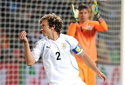 16.06.2010, Versfeld-Stadion, Pretoria, RSA, FIFA WM 2010, RSA, FIFA WM 2010, Südafrika vs Uruguay im Bild Diego Lugano (Uruguay), EXPA Pictures © 2010, PhotoCredit: EXPA/ InsideFoto/ G. Perottino, ATTENTION! FOR AUSTRIA AND SLOVENIA ONLY!!! / SPORTIDA PHOTO AGENCY