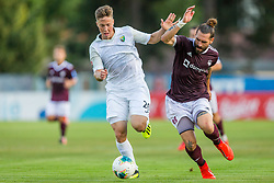 Luka Majcen of NK Triglav Kranj during Football match between NK Triglav Kranj and NK Rudar Velenje in Round #3 of Prva liga Telekom Slovenije 2019/20, on July 27, 2019 in Sports park Kranj, Kranj, Slovenia. Photo by Ziga Zupan / Sportida