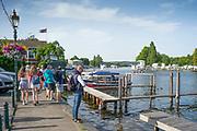 Henley on Thames, England, United Kingdom, 28th June 2019, Henley Royal Regatta Qualifiers, time trial, on Henley Reach, [© Peter SPURRIER/Intersport Image]<br /> <br /> 16:32:02