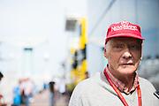 May 25-29, 2016: Monaco Grand Prix. Niki Lauda