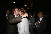 SIR PAUL MCCARTNEY AND STELLA MCCARTNEY, Dinner given by Established and Sons to celebrate Elevating Design.  P3 Space. University of Westminster, 35 Marylebone Rd. London NW1. -DO NOT ARCHIVE-© Copyright Photograph by Dafydd Jones. 248 Clapham Rd. London SW9 0PZ. Tel 0207 820 0771. www.dafjones.com.