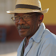 Portrait of Juan, a local Cuban man in the city of Trinidad, Cuba.