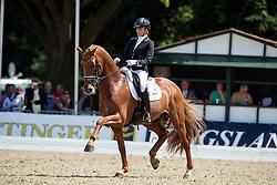 Scholtens Emmelie (NED) - Dorado<br /> FEI World Dressage Championships for Young Horses<br /> Internationales Dressur- und Springfestival - Verden 2014<br /> © Dirk Caremans