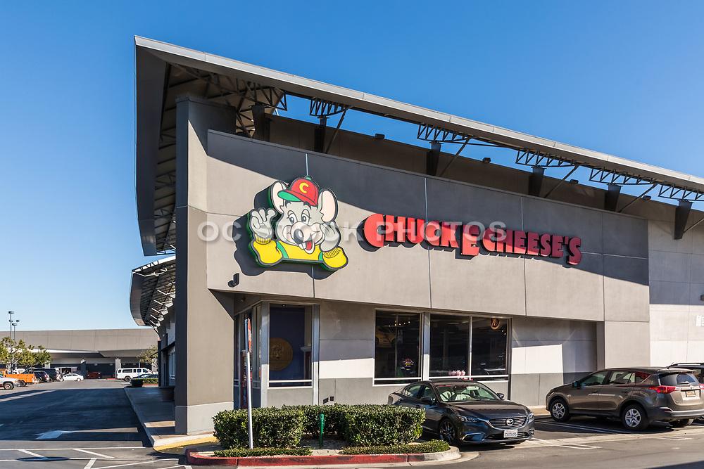 Chuck E Cheese's Building Costa Mesa