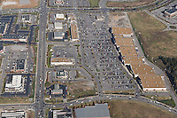 Aerial photo of the Oaks Shopping Center in Murfreesboro Tennessee on Black Friday.