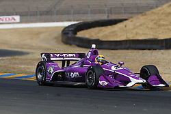 September 14, 2018 - Sonoma, California, United Stated - SANTINO FERRUCC (39) of the United States takes to the track to practice for the Indycar Grand Prix of Sonoma at Sonoma Raceway in Sonoma, California. (Credit Image: © Justin R. Noe Asp Inc/ASP via ZUMA Wire)