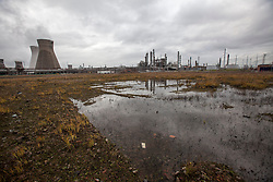 The area of the proposed tank location.<br /> INEOS Grangemouth plant as part of an INEOS Media Trip.