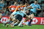 Tim Nanai-Williams. Waratahs v Chiefs. 2013 Investec Super Rugby Season. Allianz Stadium, Sydney. Friday 19 April 2013. Photo: Clay Cross / photosport.co.nz