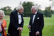 JOHN HULL; HUGH PEPPIATT, The Goodwood Ball. In aid of Gt. Ormond St. hospital. Goodwood House. 27 July 2011. <br /> <br />  , -DO NOT ARCHIVE-© Copyright Photograph by Dafydd Jones. 248 Clapham Rd. London SW9 0PZ. Tel 0207 820 0771. www.dafjones.com.
