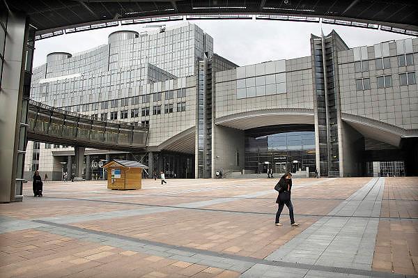 Belgie, Brussel, 28-7-2011Gebouw van het Europees parlement.Foto: Flip Franssen/Hollandse Hoogte