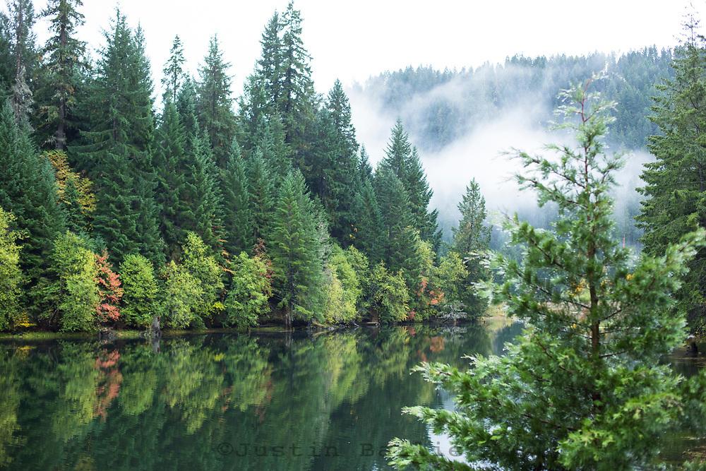 Tokatee Lake, Oregon