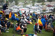 May 21-23, 2021. Lamborghini Super Trofeo, Circuit of the Americas: Start of race 2, fans