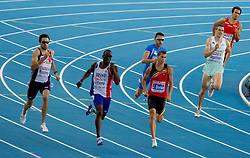 Sebastjan Jagarinec of Slovenia competes in the Mens 400m Semifinals during day two of the 20th European Athletics Championships at the Olympic Stadium on July 28, 2010 in Barcelona, Spain. (Photo by Vid Ponikvar / Sportida)