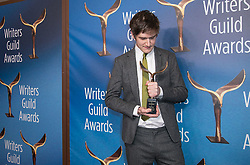 February 17, 2019 - Los Angeles, California, United States of America - Bo Burnham, winner of Original Screenplay, pose in the press room of the 2019 Writers Guild Awards at the Beverly Hilton Hotel on Sunday February 17, 2019 in Beverly Hills, California. JAVIER ROJAS/PI (Credit Image: © Prensa Internacional via ZUMA Wire)