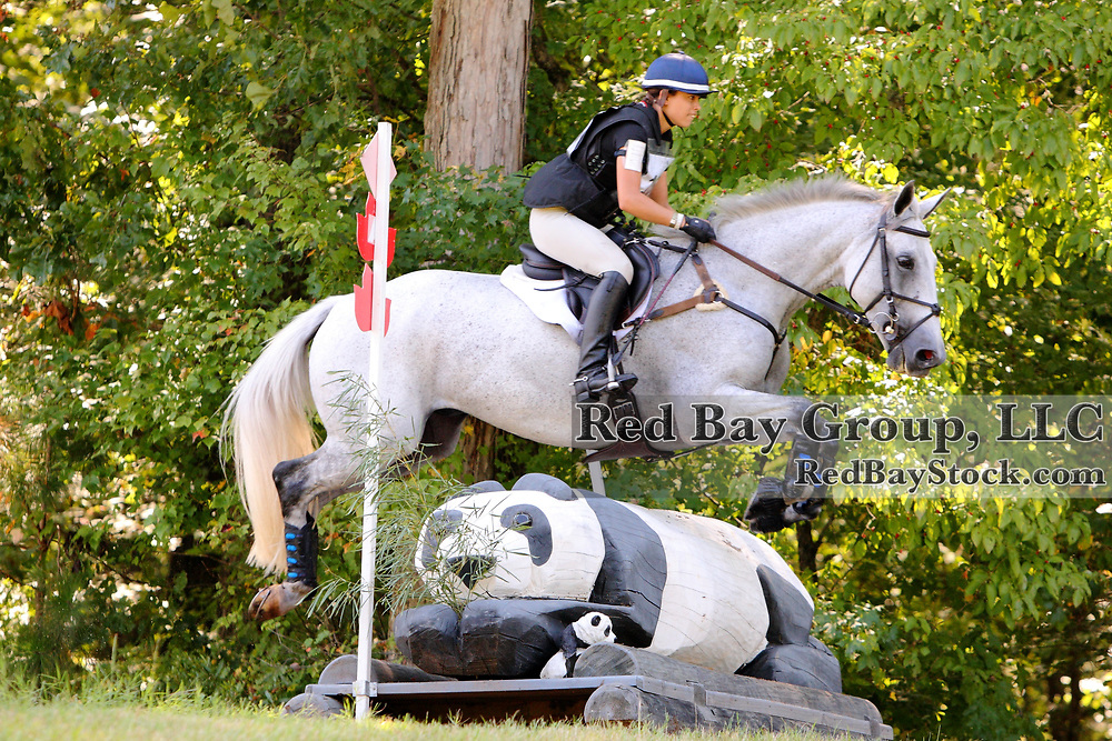 Devon Brown and Dynamic Image at the 2011 Poplar Place September Horse Trials in Hamilton, Georgia.