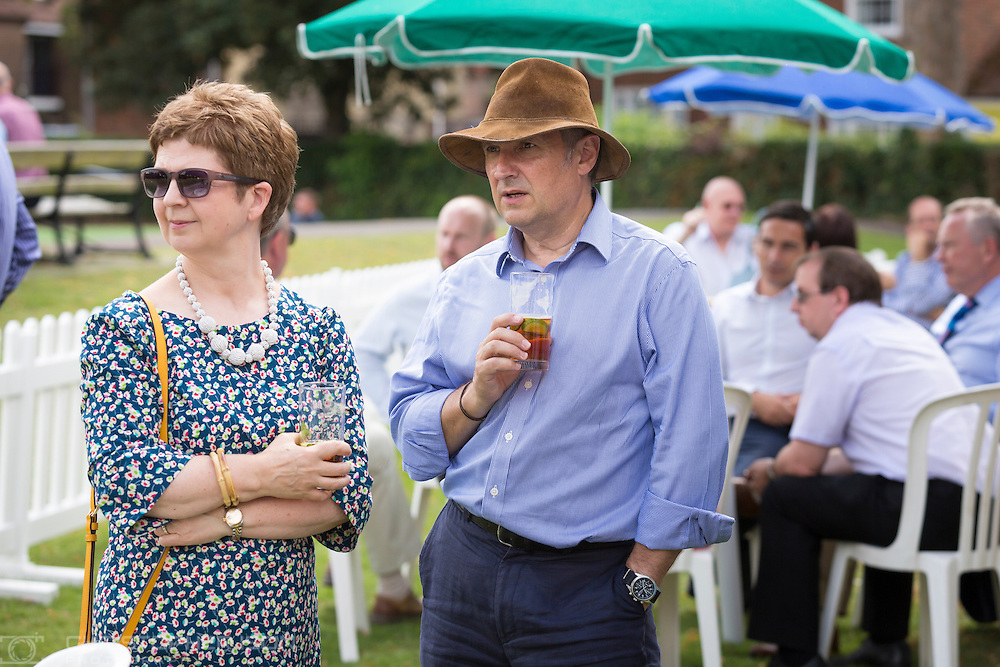Cricket and fundraising lunch at Priory Park, Chichester sponsored by George Ide LLP.<br /> Picture date: Friday August 5, 2016.<br /> Photograph by Christopher Ison ©<br /> 07544044177<br /> chris@christopherison.com<br /> www.christopherison.com