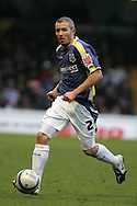 Kevin McNaughton of Cardiff City in action.Coca cola championship, Cardiff City v Nottingham Forest at Ninian Park in Cardiff on Sat 31st Jan 2009..pic by Andrew Orchard, Andrew Orchard sports photography,