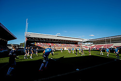 - Photo mandatory by-line: Rogan Thomson/JMP - 07966 386802 - 20/05/2015 - SPORT - Rugby Union - Bristol, England - Ashton Gate Stadium - Bristol Rugby v Worcester Warriors - Greene King IPA Championship Play-Off Final 1st Leg.