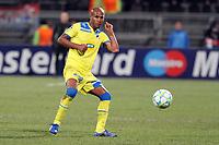 FOOTBALL - UEFA CHAMPIONS LEAGUE 2011/2012 - 1/8 FINAL - 1ST LEG - OLYMPIQUE LYONNAIS v APOEL FC - 14/02/2012 - PHOTO EDDY LEMAISTRE / DPPI - WILLIAM BOAVENTURA (APOEL)