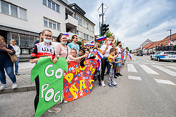 Fans during 2nd Stage of 27th Tour of Slovenia 2021 cycling race between Zalec and Celje (147 km), on June 10, 2021 in Zalec - Celje, Zalec - Celje, Slovenia. Photo by Vid Ponikvar / Sportida