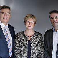 Nederland, Amsterdam , 19 februari 2015.<br /> Raad van Bestuur van GGZinGeest.<br /> v.l.n.r. dhr. drs. D.(Dirk) de Kruif RA RC RV, geneesheer directeur en lid Raad van Bestuur , mw.drs. E. (Elsbeth) de Ruijter, voorzitter en dhr. prof. dr. A.T.F.(Aartjan) Beekman.<br /> Hoogleraar psychiatrische epidemiologie en lid RVB GGZinGeest.<br /> Foto:Jean-Pierre Jans