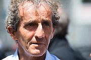 May 25-29, 2016: Monaco Grand Prix. Alain Prost, F1 world champion