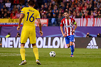 "Atletico de Madrid's player Gabriel ""Gabi"" Fernández and CF Rostov's player Christian Noboa during a match of UEFA Champions League at Vicente Calderon Stadium in Madrid. November 01, Spain. 2016. (ALTERPHOTOS/BorjaB.Hojas)"