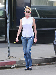 Melanie Griffith is seen out and about in Los Angeles, USA.