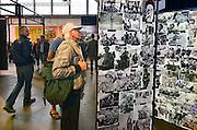 Nederland, Nijmegen, 21-9-2014Beelden van de presentatie in het Vasim gebouw van het in oprichting zijnde museum van de vrijheid, vrijheidsmuseum. De plannen van o.a. de gemeente en de initiatiefnemers komen echter miljoenen tekort, en critici voorspellen dat het museum, oorlogsmuseum, geen toekomst heeft vanwege de hoge kosten en te lage bezoekersaantallen. Bovendien is in Groesbeek al een nationaal bevrijdingsmuseum ter herdenking van de operatie market garden en de luchtlanding in 1944. Nu is het een broedplaats voor kunstenaars en creatieve, alternatieve ondernemers.FOTO: FLIP FRANSSEN/ HOLLANDSE HOOGTE
