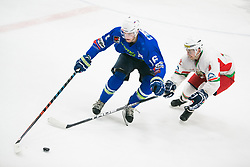 Miha Zajc during Ice Hockey match between National teams of Slovenia and Belarus at International tournament Euro ice hockey Challenge 2019, on February 9, 2019 in Ice Arena Bled, Slovenia. Photo by Peter Podobnik / Sportida