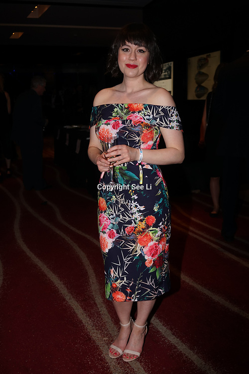 Westminster, UK. 20th Apr, 2017. Nyomi Winter - nomipalony.com (finalist parenting) attends The annually National UK Blog Awards at Park Plaza Westminster Bridge, London. by See Li