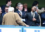 Chelsea's Eddie Newton with Ken Bates during the Premier League match at the Stamford Bridge Stadium, London. Picture date: April 1st, 2017. Pic credit should read: David Klein/Sportimage via PA Images