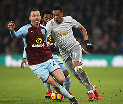 Anthony Martial of Manchester United (R) in action - Mandatory by-line: Jack Phillips/JMP - 20/01/2018 - FOOTBALL - Turf Moor - Burnley, England - Burnley v Manchester United - English Premier League