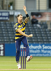 Dale Steyn of Glamorgan bowls - Mandatory by-line: Robbie Stephenson/JMP - 10/06/2016 - CRICKET - Brightside Ground - Bristol, United Kingdom - Gloucestershire v Glamorgan - NatWest T20 Blast